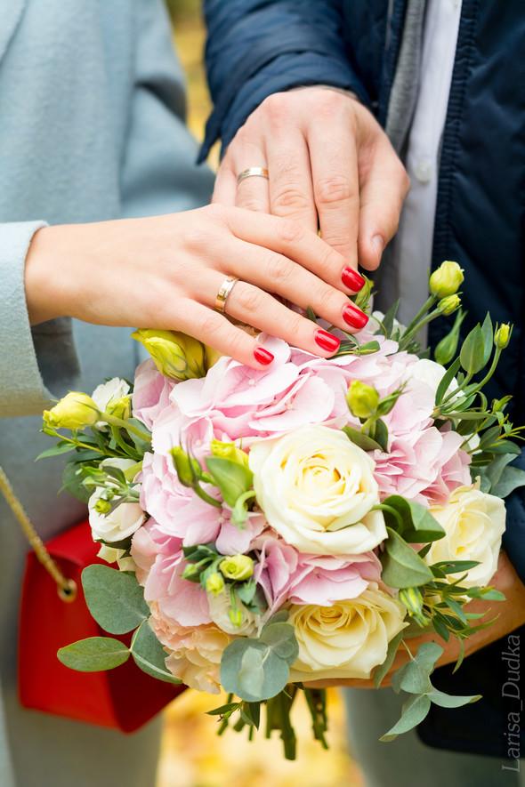 Свадебная осенью - фото №8