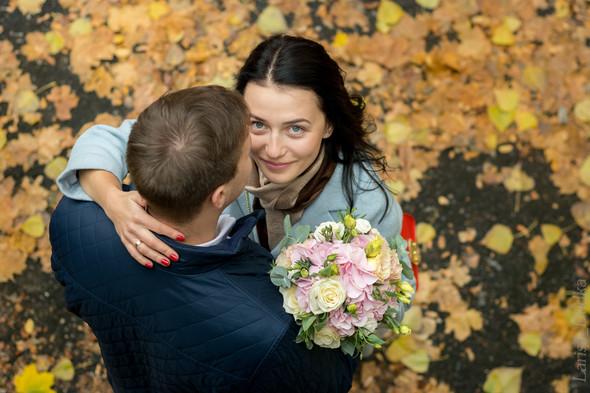 Свадебная осенью - фото №1