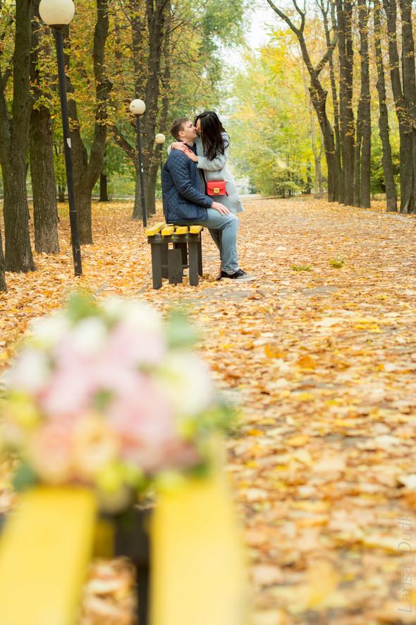 Свадебная осенью - фото №11