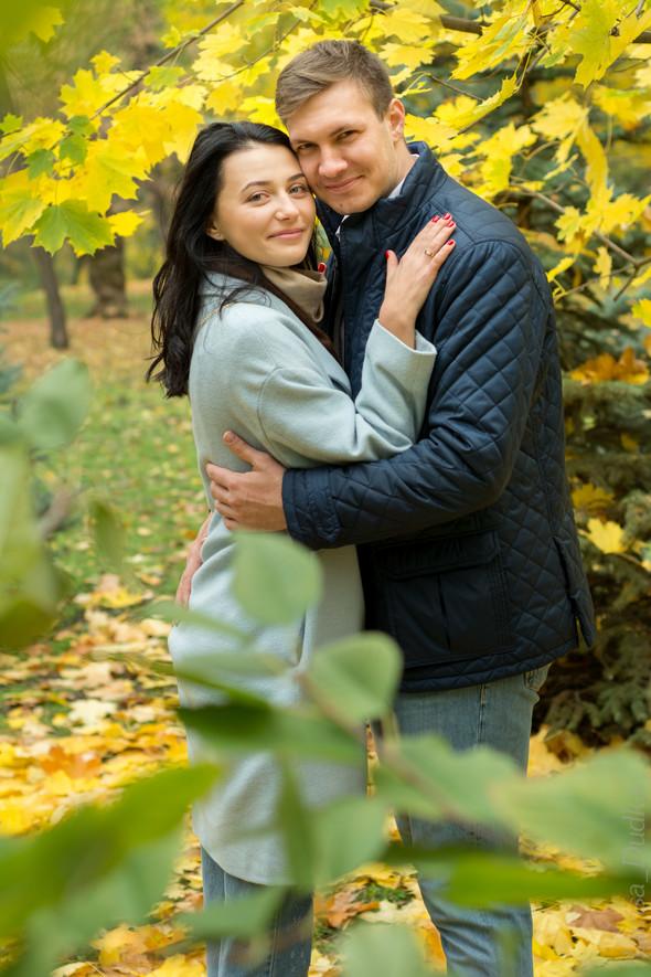 Свадебная осенью - фото №7