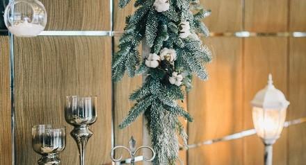 Скидка 20% на новогоднее свадебное оформление!