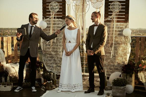Modern wedding - фото №15
