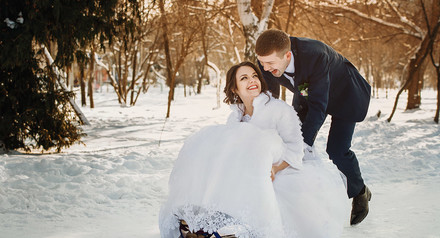 Скидка на январские свадьбы