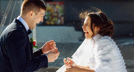Скидка на ноябрьские и декабрьские свадьбы