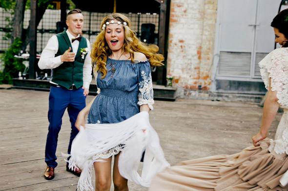 Свадебная вечеринка в стиле Бохо - фото №61