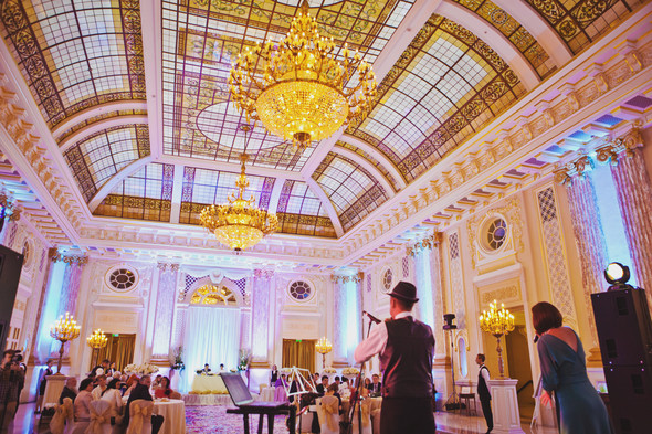 Шикарная свадьба в  Fairmont - фото №42