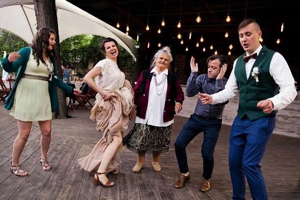 Свадебная вечеринка в стиле Бохо - фото №66