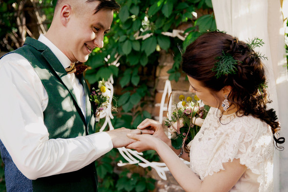 Свадебная вечеринка в стиле Бохо - фото №44