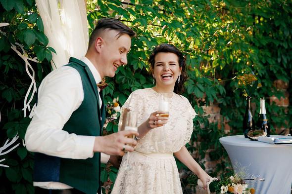 Свадебная вечеринка в стиле Бохо - фото №43