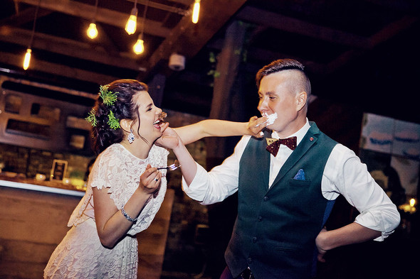 Свадебная вечеринка в стиле Бохо - фото №76