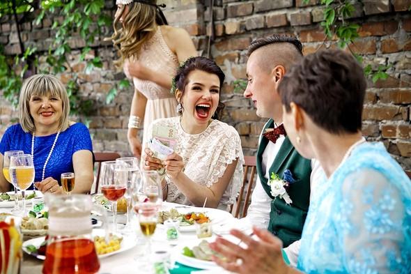 Свадебная вечеринка в стиле Бохо - фото №60
