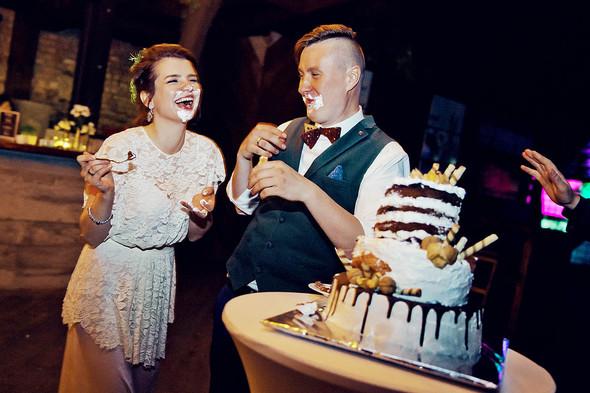 Свадебная вечеринка в стиле Бохо - фото №77