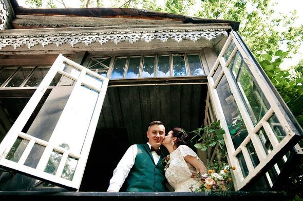 Свадебная вечеринка в стиле Бохо - фото №33