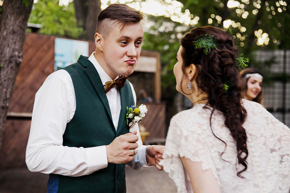 Свадебная вечеринка в стиле Бохо - фото №69