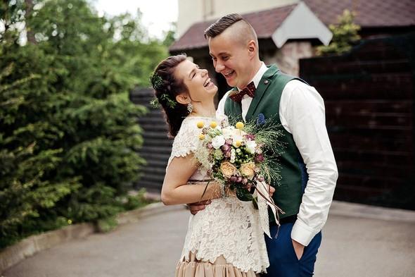Свадебная вечеринка в стиле Бохо - фото №28