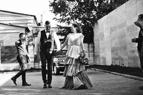Свадебная вечеринка в стиле Бохо - фото №37