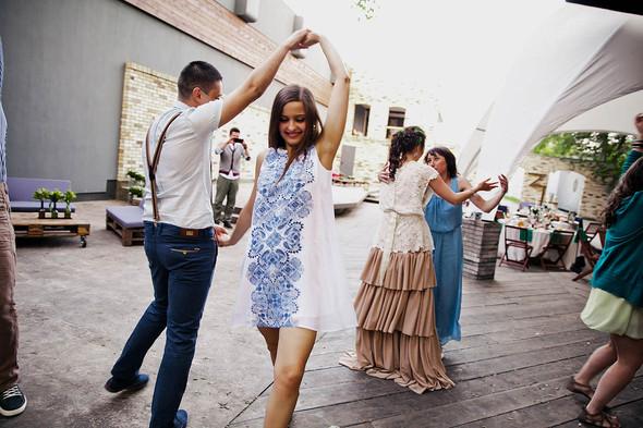 Свадебная вечеринка в стиле Бохо - фото №68