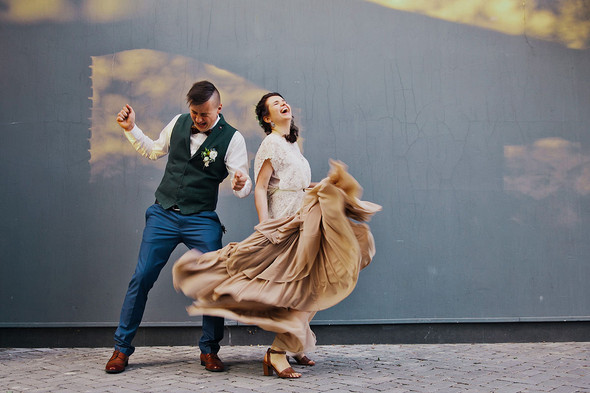 Свадебная вечеринка в стиле Бохо - фото №57