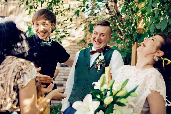 Свадебная вечеринка в стиле Бохо - фото №45