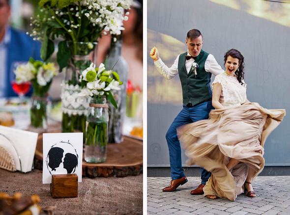 Свадебная вечеринка в стиле Бохо - фото №3