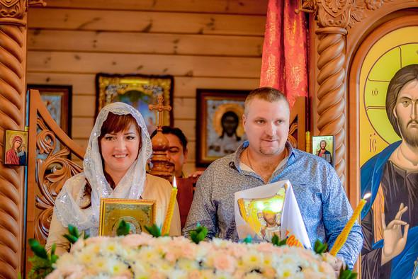 Венчание в храме Георгия Победоносца - фото №5