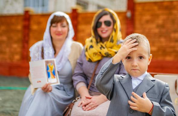 Венчание в храме Георгия Победоносца - фото №7
