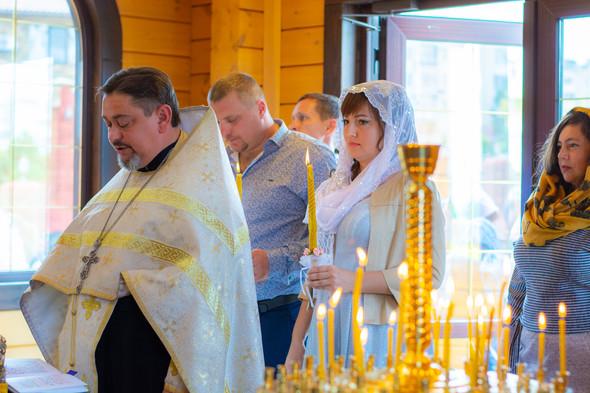 Венчание в храме Георгия Победоносца - фото №10