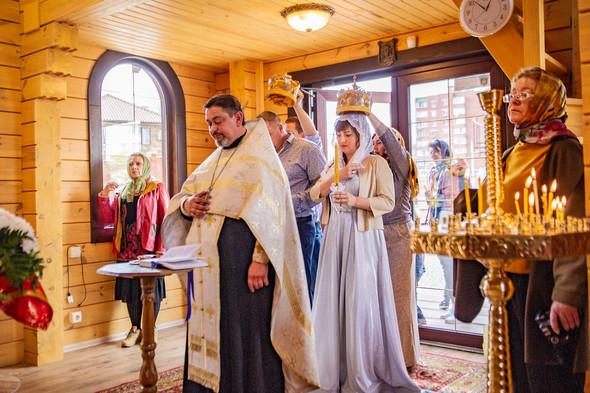 Венчание в храме Георгия Победоносца - фото №6
