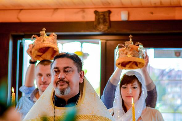 Венчание в храме Георгия Победоносца - фото №1