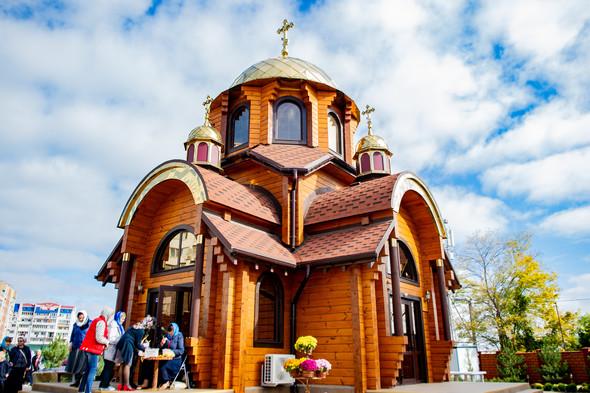 Венчание в храме Георгия Победоносца - фото №23