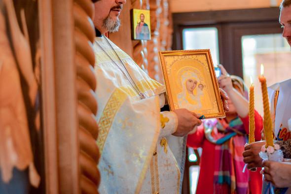Венчание в храме Георгия Победоносца - фото №15