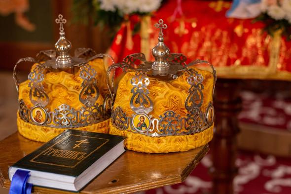 Венчание в храме Георгия Победоносца - фото №3