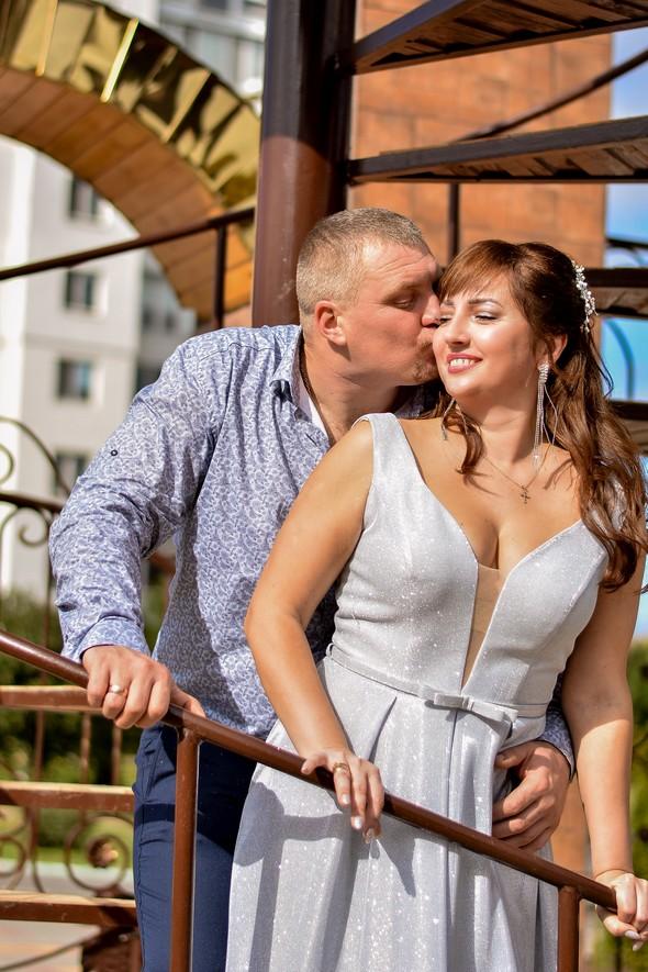 Венчание в храме Георгия Победоносца - фото №20
