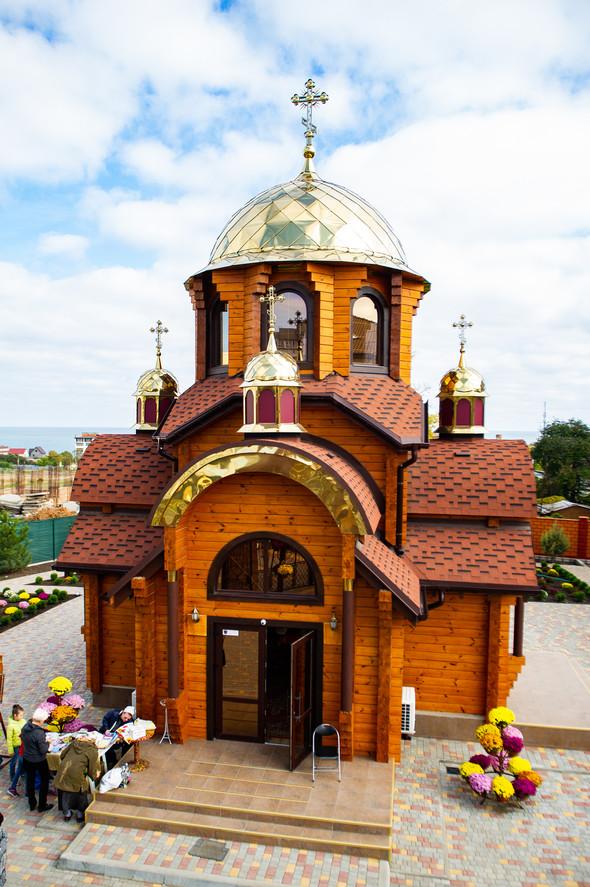 Венчание в храме Георгия Победоносца - фото №28