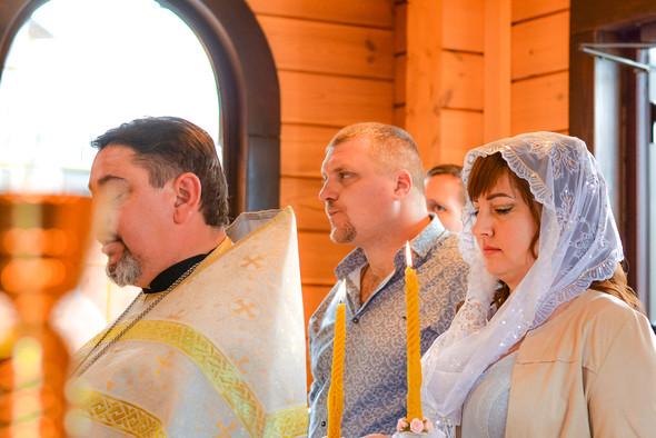 Венчание в храме Георгия Победоносца - фото №13