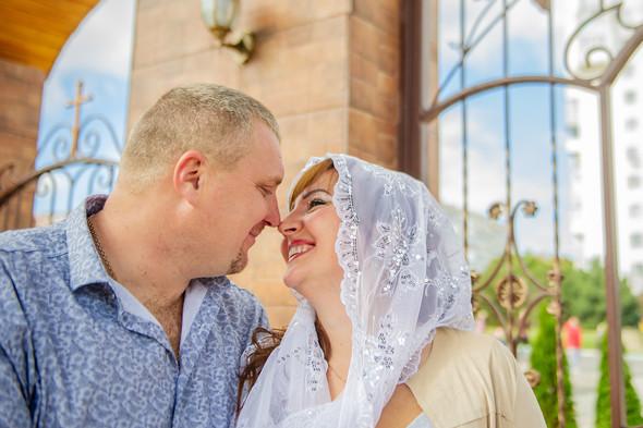 Венчание в храме Георгия Победоносца - фото №24