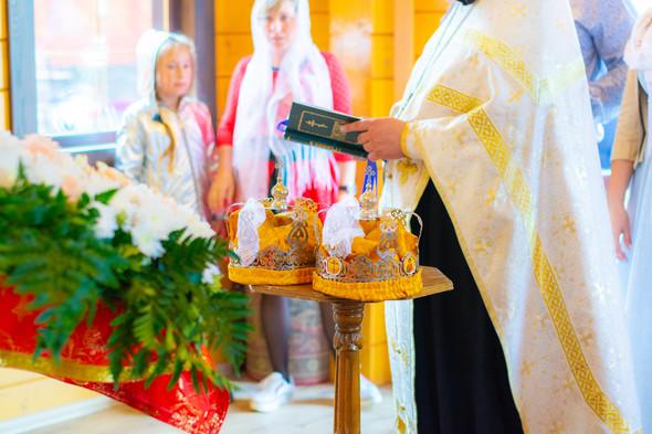 Венчание в храме Георгия Победоносца - фото №11