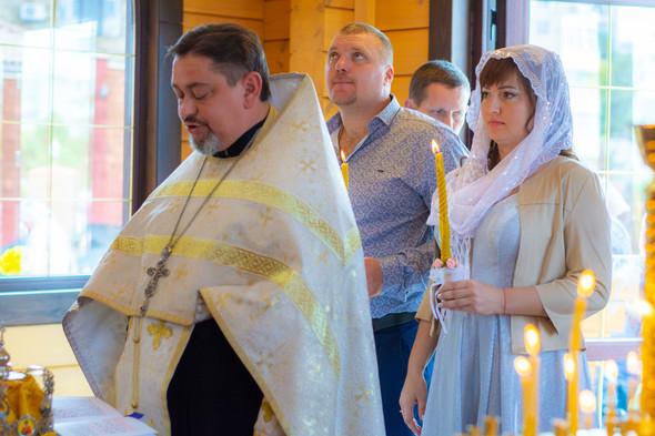 Венчание в храме Георгия Победоносца - фото №9