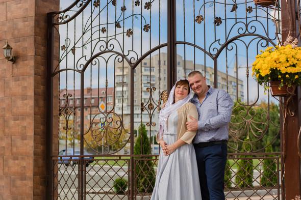Венчание в храме Георгия Победоносца - фото №18