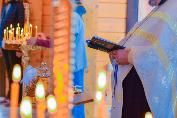 Венчание в храме Георгия Победоносца - фото №12