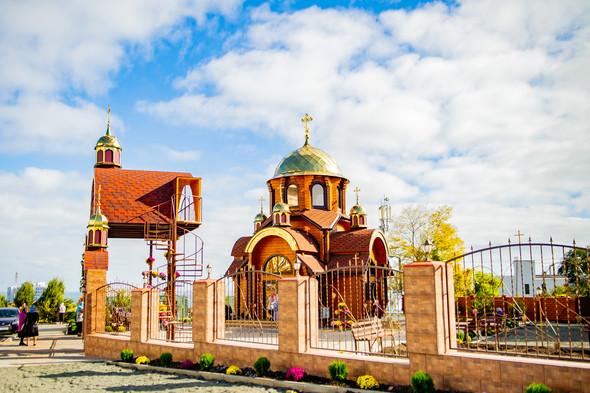 Венчание в храме Георгия Победоносца - фото №21