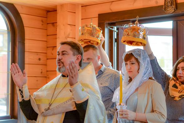 Венчание в храме Георгия Победоносца - фото №14