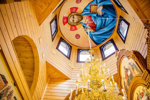 Венчание в храме Георгия Победоносца - фото №26