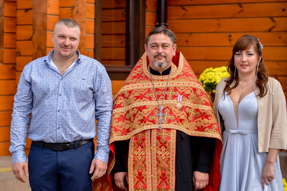 Венчание в храме Георгия Победоносца - фото №17