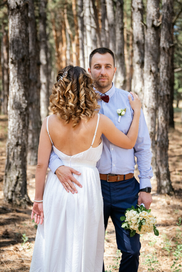 Сергей и Евгения. Камерная свадьба - фото №7