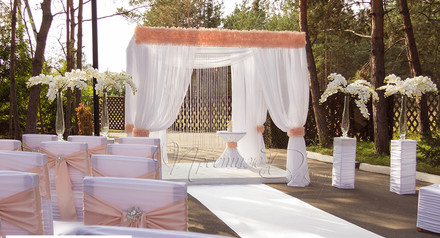 Свадебный декор и оформление зала.