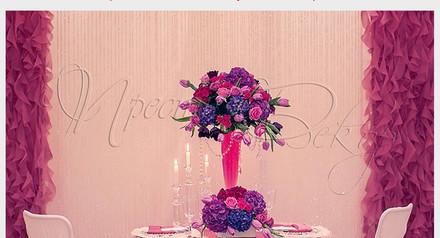 Оформление свадеб кременчуг. Декор стола от 1500 грн