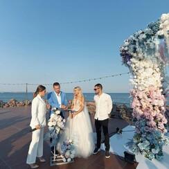 Юлия  Мазур - выездная церемония в Одессе - фото 4