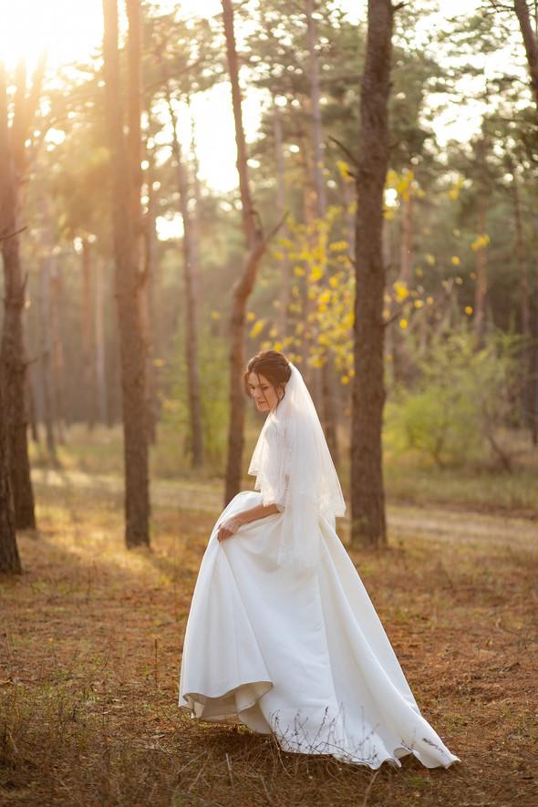 Свадебная прогулка Лизы и Андрея - фото №22
