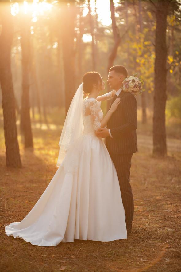 Свадебная прогулка Лизы и Андрея - фото №23